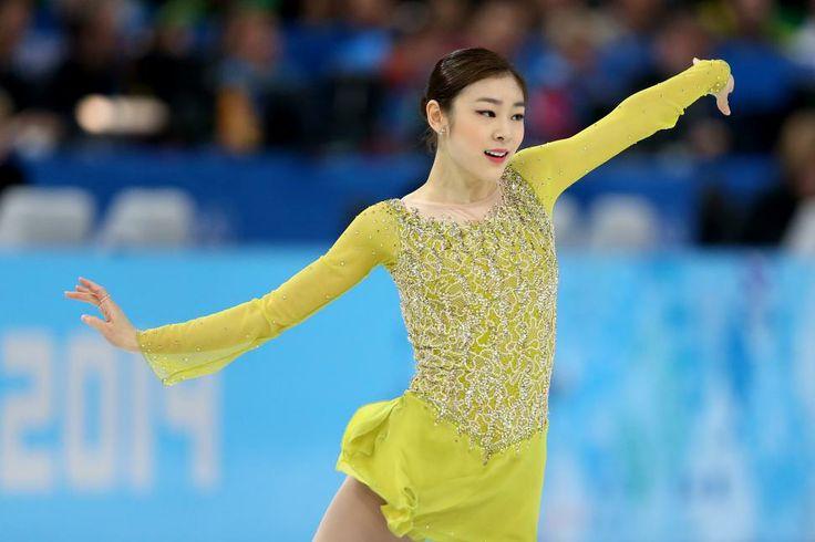 キム・ヨナが首位 フィギュア女子SP