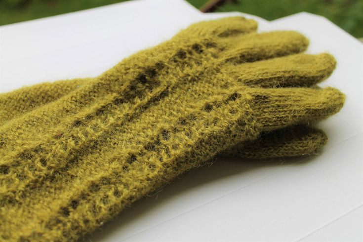 Excited to share the latest addition to my #etsy shop: Green gloves olive finger gloves patterned of wool knitted and felted mittens armwarmers gift for her http://etsy.me/2Bc0VZx #accessories #gloves #green #birthday #christmas #giftforher #greenarmwarmers #greenmitte