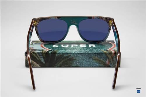 Super Flat Top - Persly Brown (Visiva) #retrosuperfuture #supersunglasses #sunglasses #supertr