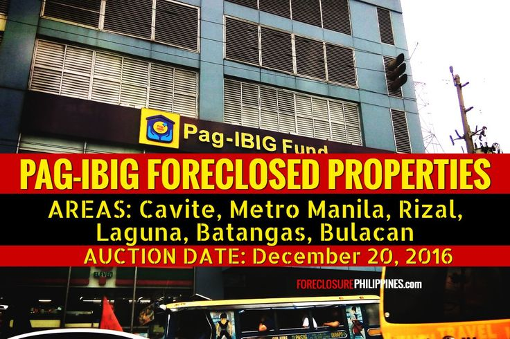 101 best real estate investing images on pinterest foreclosed auction of 407 pag ibig foreclosed properties in cavite ncr rizal laguna malvernweather Image collections