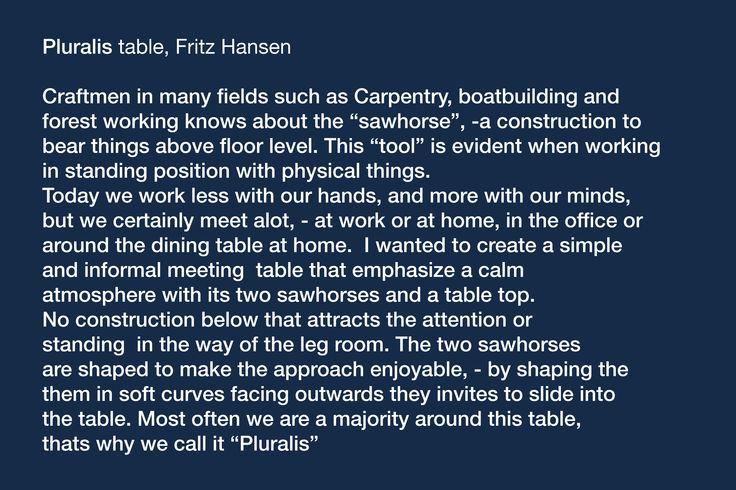 Pluralis table@ Kasper Salto