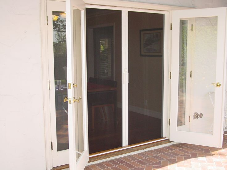 Best 25 French Doors With Screens Ideas On Pinterest