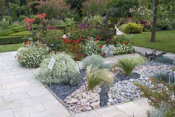 85 best images about parterre avec cailloux on pinterest for Parterre vegetable garden design