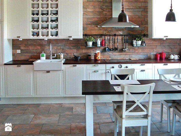 mieszkanie eklektyczne - Kuchnia, styl eklektyczny - zdjęcie od CKTprojekt