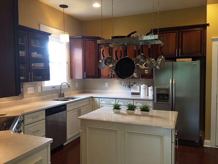 Yellow Countertop Paint : ... paint pots yellow kitchens general finishes pot racks milk paint