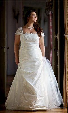 """Robe de mariée grande taille """"Mayotte"""" de la collection Préludes 2012"""