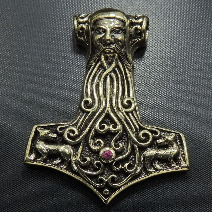 FACE of THOR, WOLVES, Big Thors Hammer Viking Pendant Necklace, Brass , Red Gem http://www.ebay.co.uk/itm/221602475581?_trksid=p11010.c100162.m2917&_trkparms=aid%3D222007%26algo%3DSIC.MBE%26ao%3D1%26asc%3D20140212122133%26meid%3D95009e902d124b34894e0cd71f1e17e6%26pid%3D100162%26prg%3D20140212122133%26rk%3D3%26rkt%3D12%26sd%3D221642271424/?ssPageName=ADME:B:WNA:GB:1120