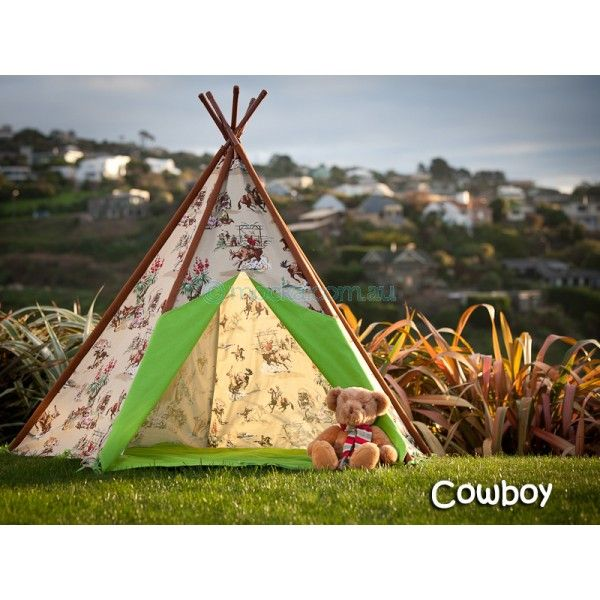 Remember playing cowboys and Indians? This Coyboy Teepee from Mocka is a great way to get your kids out and about playing in the garden again!
