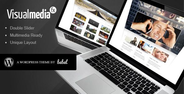 VisualMedia Special FX Wordpress Theme   http://themeforest.net/item/visualmedia-special-fx-wordpress-theme/138329?ref=damiamio      VisualMedia is a throughout professional premium Wordpress Theme which is perfectly suited for company sites and private or commercial blogs and showcases. If you are looking for a sleek and professional high quality theme, VisualMedia is for you. 	  here for details 	  Update 1.2 out now 	 	 This update fixes some bugs and typos. 		 Click here for details 	…