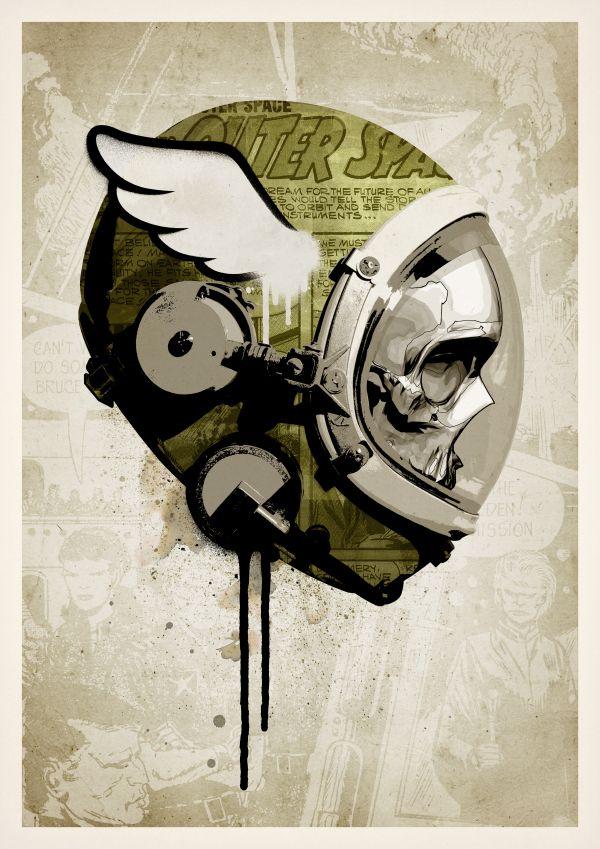 Urban Spaceman by Rhys Owens