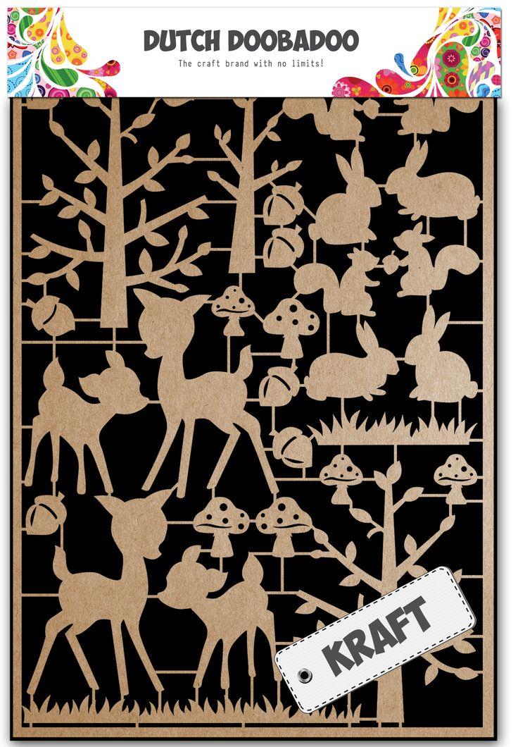 479.002.011 Dutch Doobadoo Paper Art Herfst