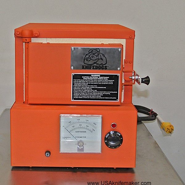 """Paragon Knife Heat Treat Oven: KnifeDogs(tm) Heat Treating Oven By Paragon 8""""W X 4""""T X 14"""