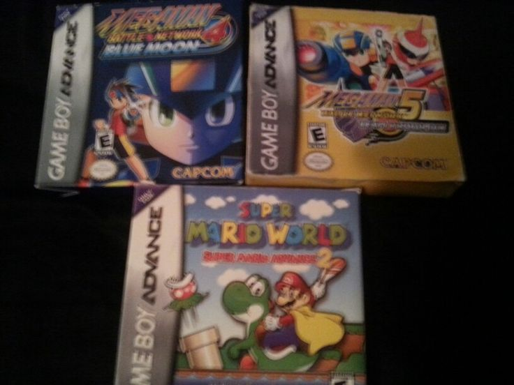 Megaman EXE 4 Blue Moon,  Megaman EXE 5 Team Protoman, Super Mario World Advanced 2