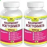 2x Raspberry Ketones Pure  Fresh 500mg Ketone Plus - 60 Vegetarian Caps, Fast Metabolism Diet Pills - Best Max Burn  Lose Fat Quickly Healthy Dieting Pills Proven for Rapid Weight Loss That Works Naturally Fast - Safely Simply Slim At Home with No Side Effects Raspberry Ketones