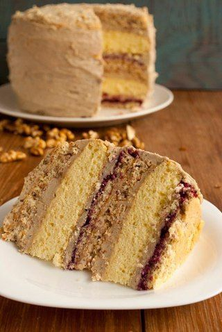 Шустрый Повар | Рецепты | Кулинария: Ореховый торт с халвой.Ингредиенты:Ореховые…