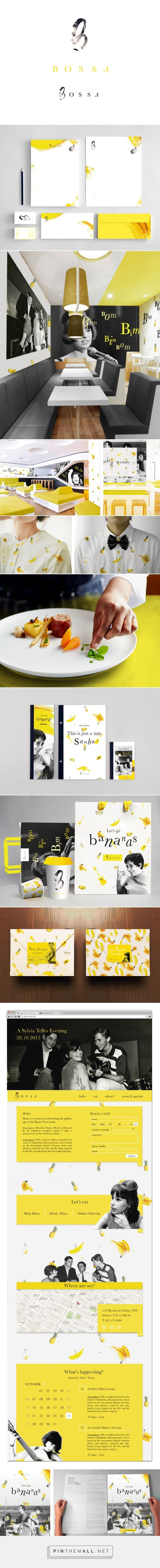 Bossa on Behance curated by Packaging Diva PD. Let's go bananas for the Bossa Nova packaging created via https://www.behance.net/gallery/Bossa/11202639