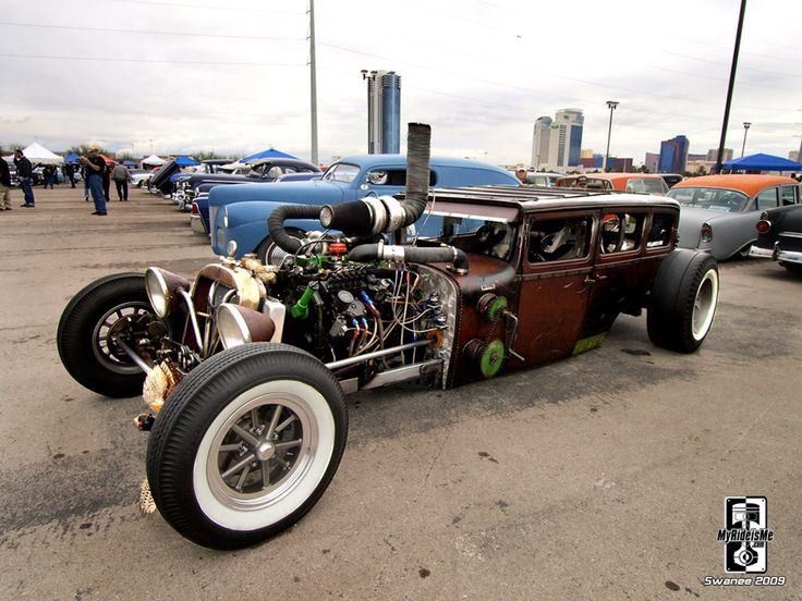 Cummins Rat Rod, I've pinned this before, but this is a different shot and its stupid cool.