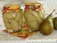 Bajeczna Kuchnia: Gruszki marynowane