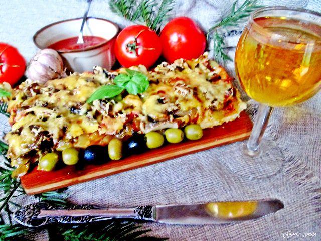 Gosia gotuje: Domowa pizza