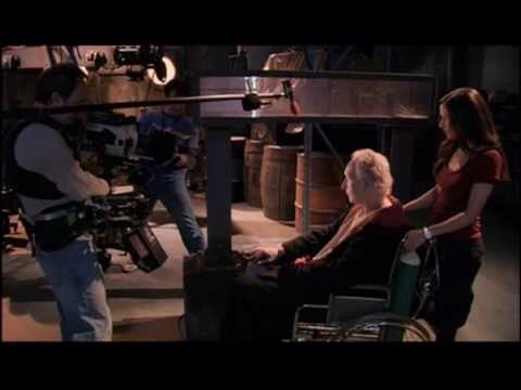 Behind the scenes Saw VI. Amanda & John. Shawnee smith & Tobin Bell