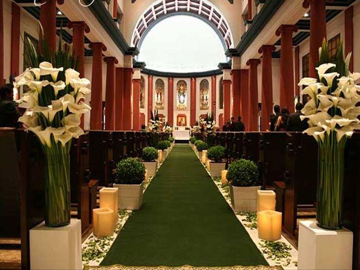 Enfeite De Igreja ~ 25+ melhores ideias sobre Corredor de igreja de casamento no Pinterest Decorações de casamento