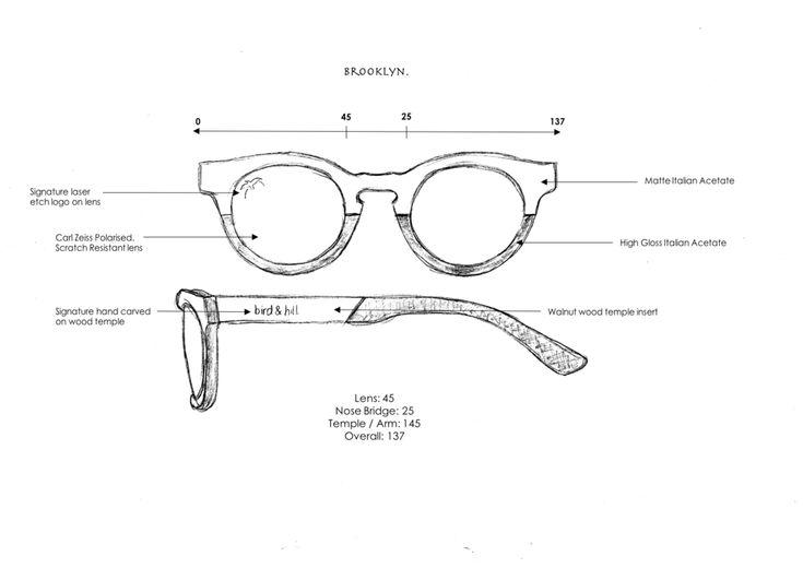 brooklyn sunglasses by bird & hill.