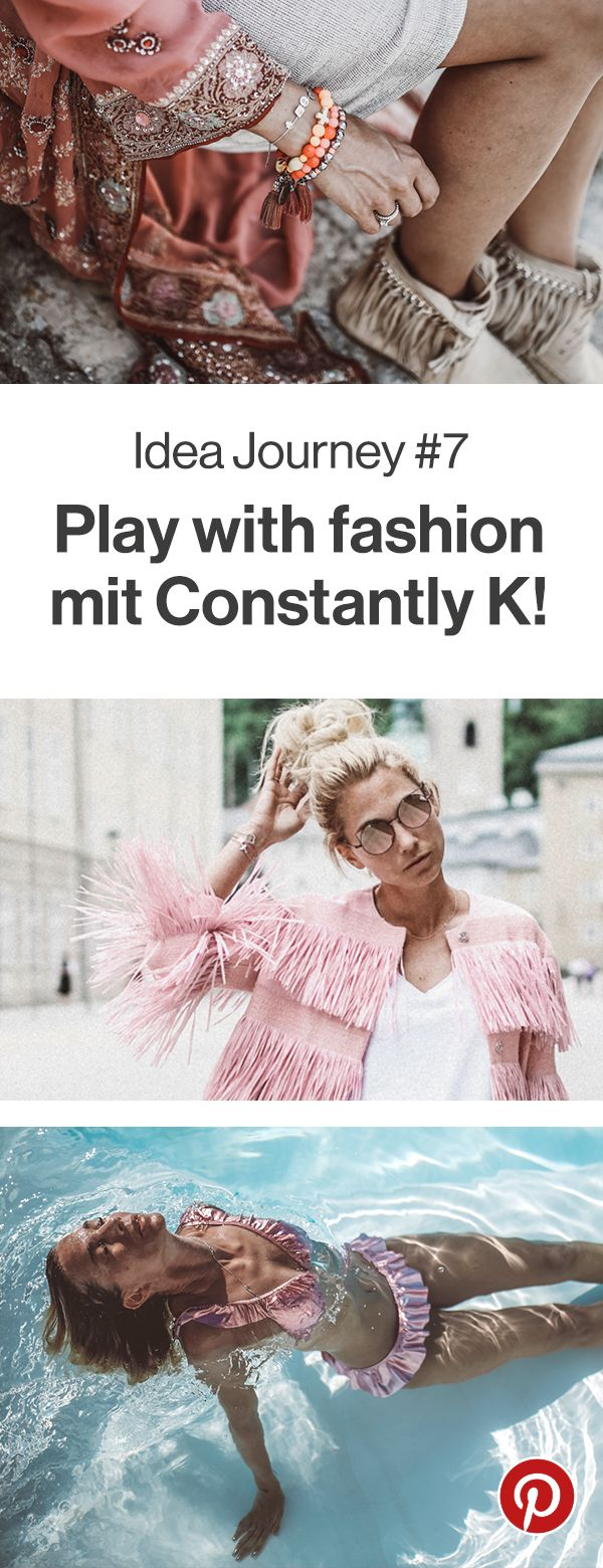 """Wie Karin von Constantly K ihren eigenen Stil gefunden hat und wo sie Inspirationen für ihre Outfits findet, verrät sie euch jetzt auf unserem Blog. Im nächsten Monat unserer Idea Journey dreht sich alles um das Thema """"Play with fashion"""". Also seid dabei und lasst euch inspirieren."""