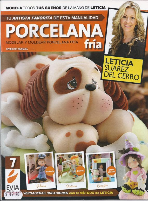 Cold Porcelain Magazine 7 2012 by Leticia Suarez del by AmGiftShoP, $12.99