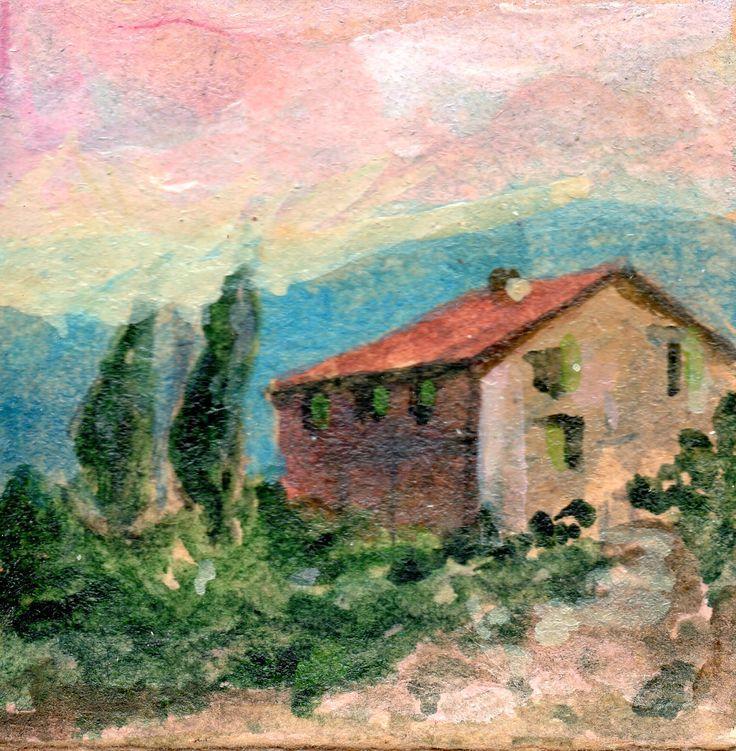 PAOLO SALVATI - Casale - dalle Opere di fantasia alla casa dei sogni - 1981.