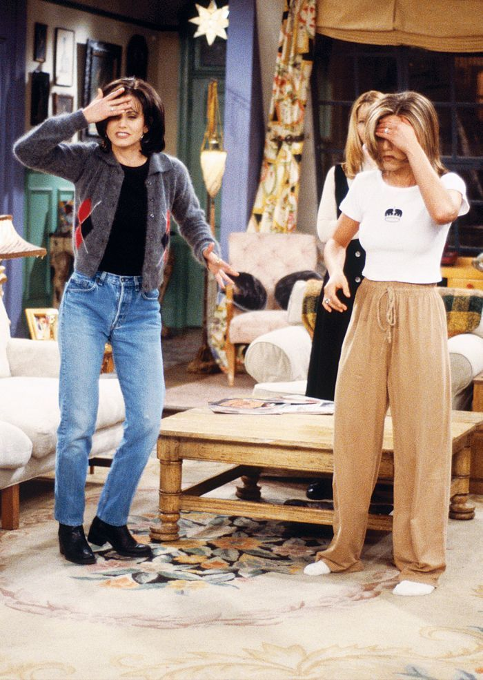 Monica Geller s Wardrobe Was Actually the Coolest Thing on Friends   Who  What Wear UK 295b8bd21f