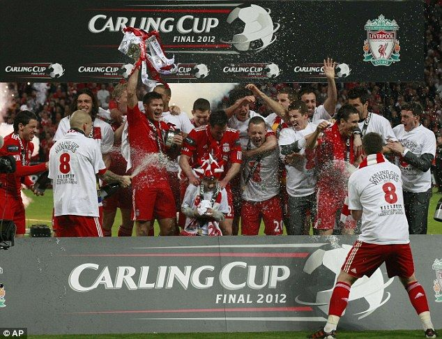 Liverpool 2012 Carling Cup Champs