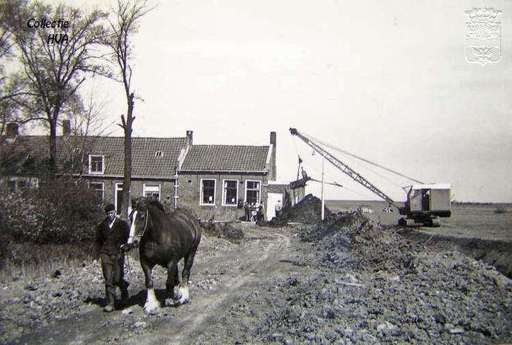 De ruilverkaveling in Kleverskerke 1962