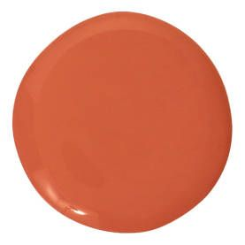 "Benjamin Moore Regal Select Orange Parrot 2169-20 ""Not too yellow and not too red, this orange feels good, just like my favorite cashmere sw..."