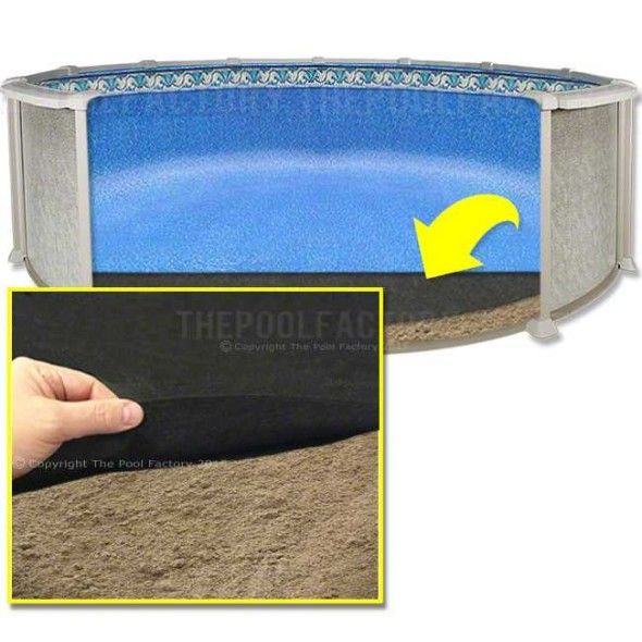 24 Round Armor Shield Liner Floor Pad In 2020 Pool Liners