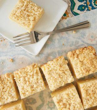 This sweet, tart Lemon Cream Cheese Coffee Cake is a must-make for lemon lovers! - Bake or Break