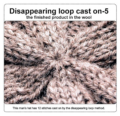 Casting on from the middle--disappearing loop method: Knits Tutorials, Knits Techniques, Loops Method, Knits Crochet, Finish Products, Caston, Cast On Method, Middle Disappearing Loops, Loops Cast On