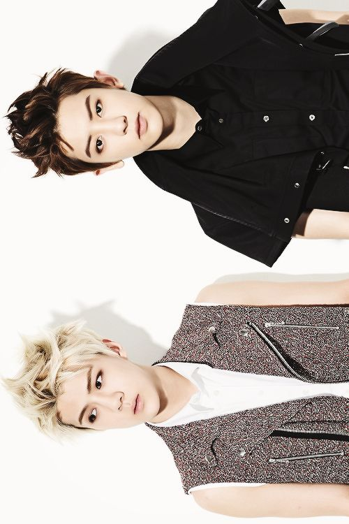 Sehun and Chanyeol for So Cool Magazine