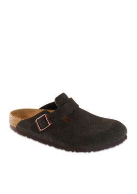 birkenstock classics boston smooth leather black