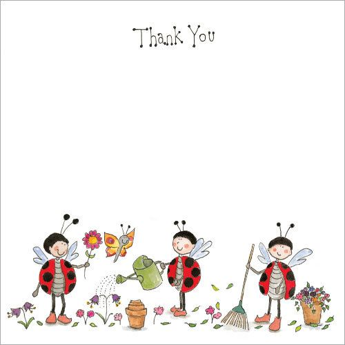 Pack of 10 Thank You Cards with envelopes. TY75 $10