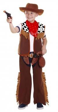 Kovboy Kostüm ve Aksesuar Seti 3-6 Yaş