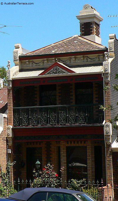 Terrace House: 195 Adderley Street, West Melbourne. Victoria