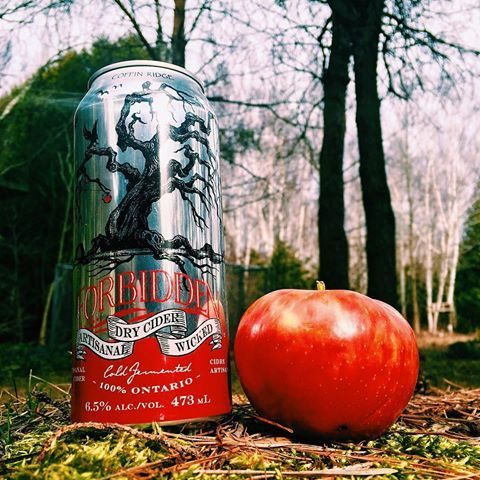 Feels like a good day for a @coffinridge Forbidden Cider 🍎🍺☀️ #cidersunday?