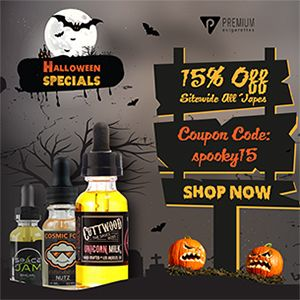 Halloween Coupon Special -  http://www.planetgoldilocks.com/e_cigarettes.htm  #ecigarettes  Halloween Coupon Special - Take 15% Off on total orders by using coupon code: spooky15 from #PremiueECigarette #health #coupons #halloweencoupons