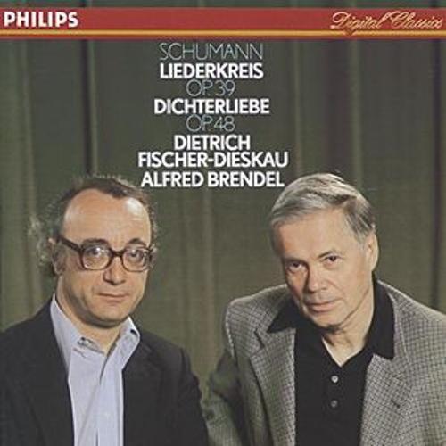 Schumann: Dichterliebe; Liederkreis de Dietrich Fischer-Dieskau