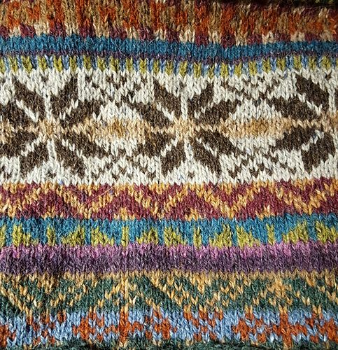 AnneLiseL's Traditional fairisle blanket