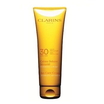 Clarins Creme Solaire SPF 30 #summerbag #limoni