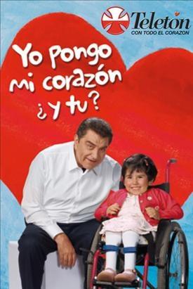 imagenes de la teleton, fundacion para niños con discapacidad que une al pais.
