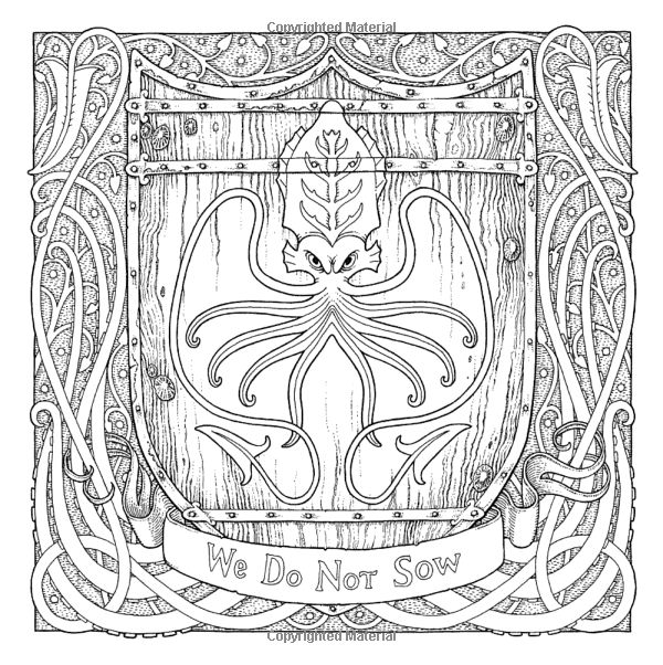 238 best GOT Coloring Book images on Pinterest Colouring book