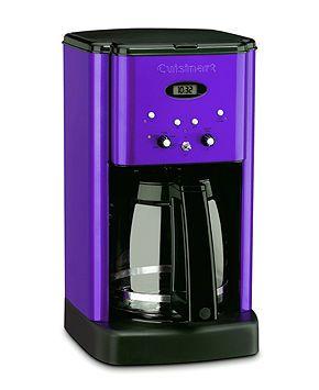Purple Cuisinart Coffee Maker