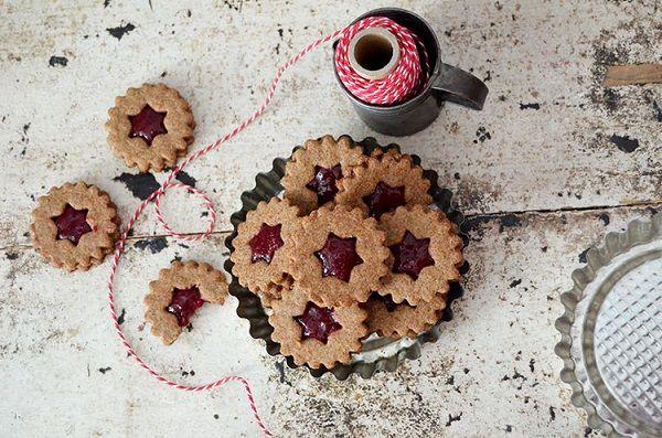 Braunhirse Kekse